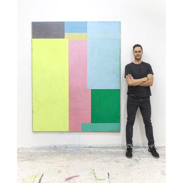 oil on canvas, 200*160 cm, 2018